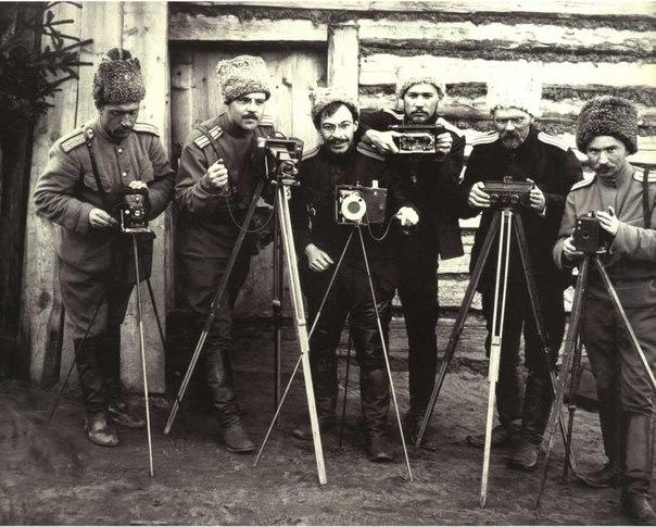 Фотографы на Первой мировой войне