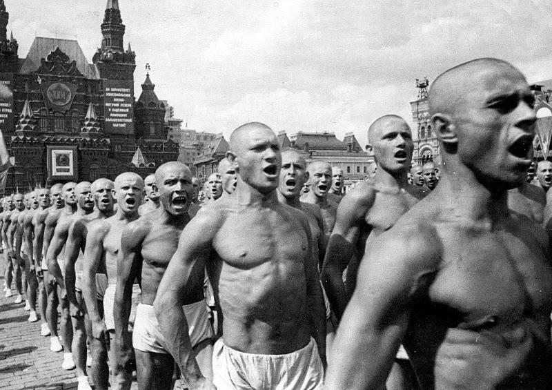Всесоюзный парад физкультурников на Красной площади