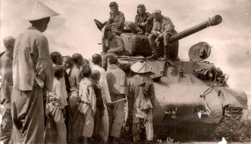 Советские танки в Маньчжурии