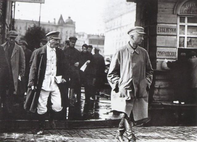 Сталин на прогулке