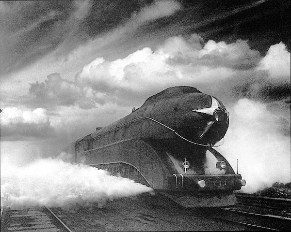 Скоростной паровоз