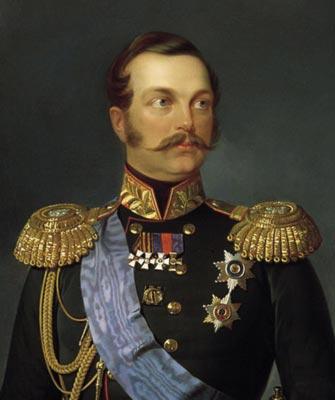 Конфуз на обеде по случаю коронации Александра II