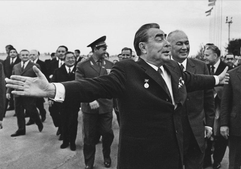 Приезд Леонида Брежнева в Узбекистан