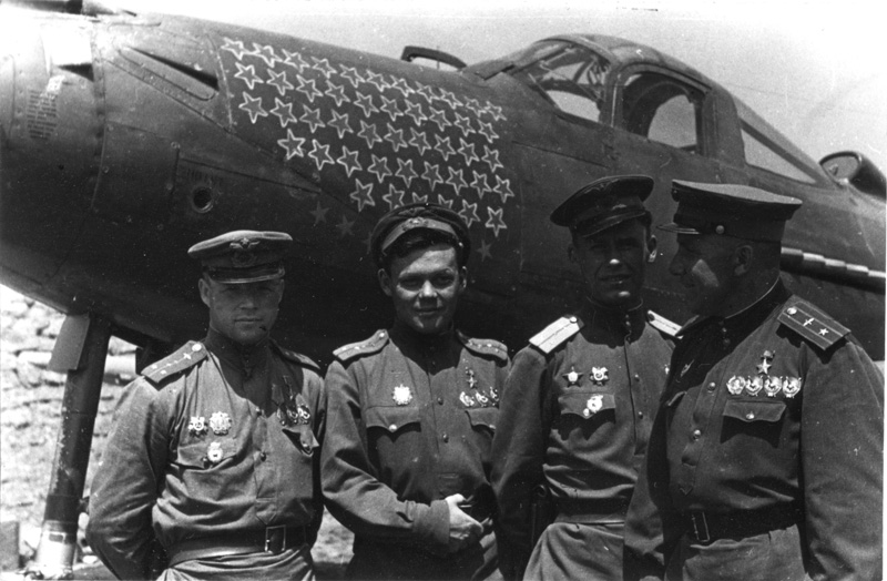 52 сбитых самолета