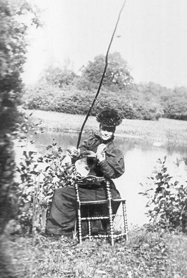 Императрица Мария Федоровна на рыбалке