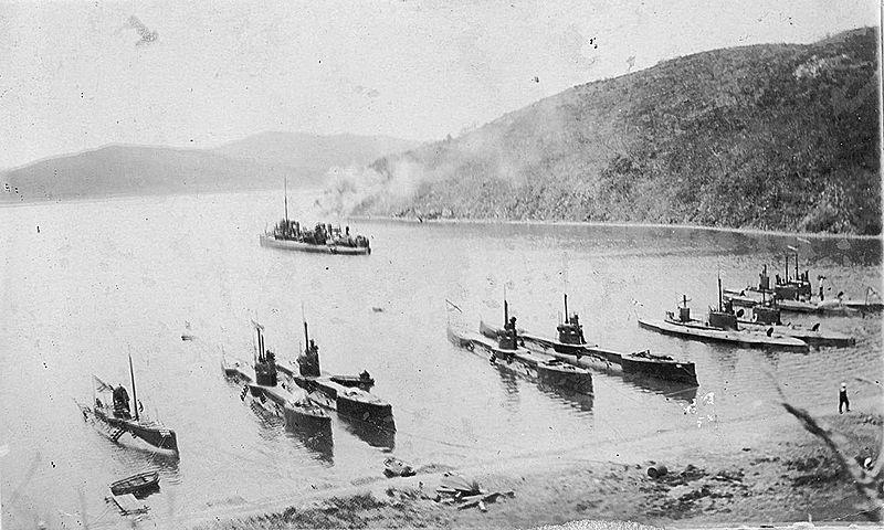 Подводные лодки Сибирской флотилии во Владивостоке