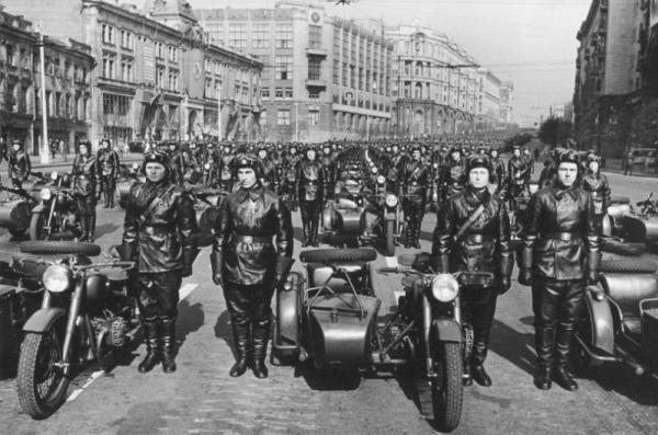 Парад мотоциклистов
