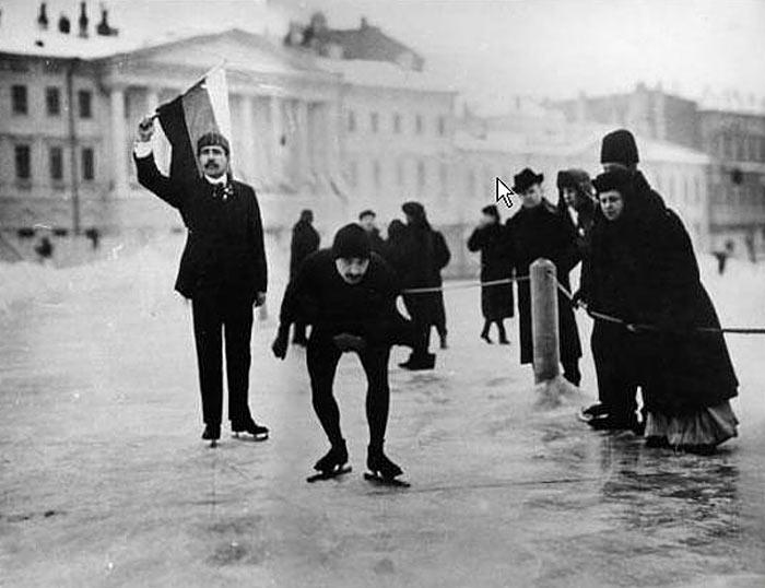 Первые конькобежцы Санкт-Петербурга
