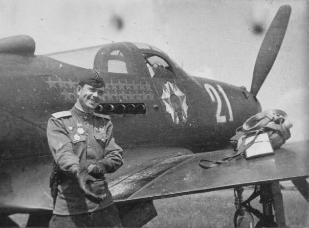 Летчик-истребитель Федор Иванович Шикунов