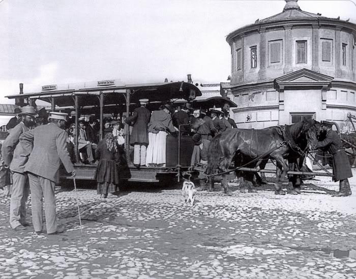Конный трамвай (2)