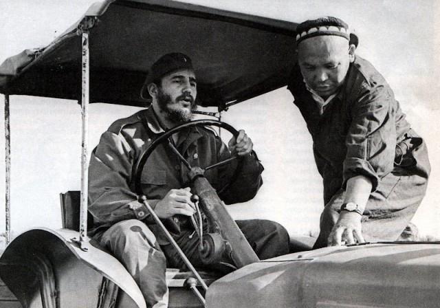 Фидель Кастро в Узбекистане