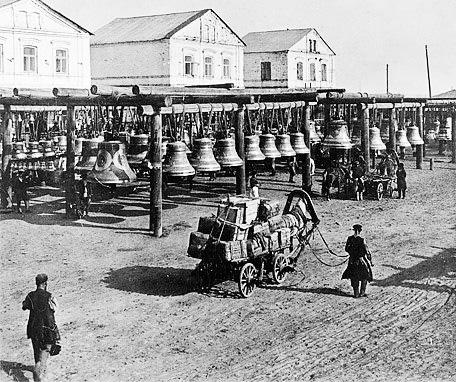 Большой Колокольный рынок в Нижнем Новгороде