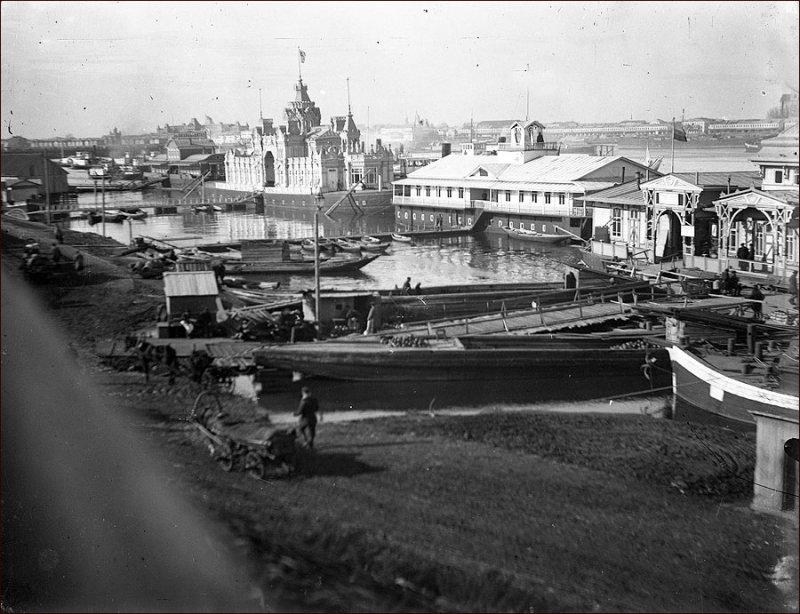 Пристани в Нижнем Новгороде