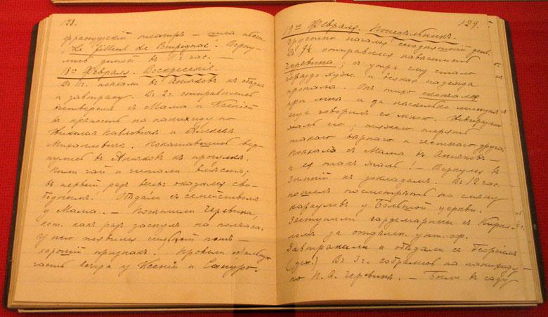 Запись Николая II в своем дневнике о покушении на него в Японии