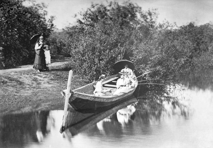 Рыбалка на «Черном пруду»