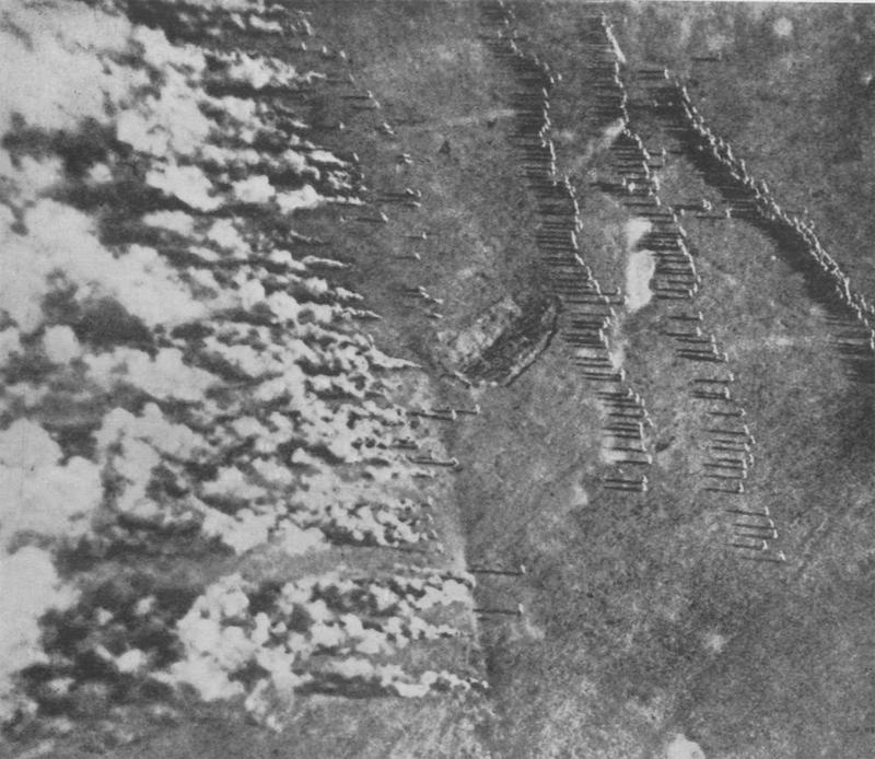 Газовая атака на Восточном фронте, Первая мировая война
