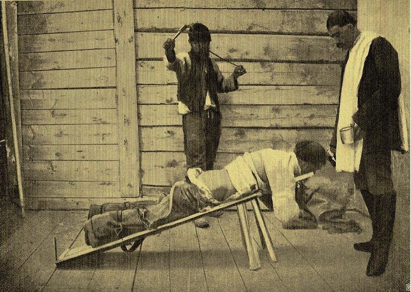 Наказание плетьми на Сахалинской каторге