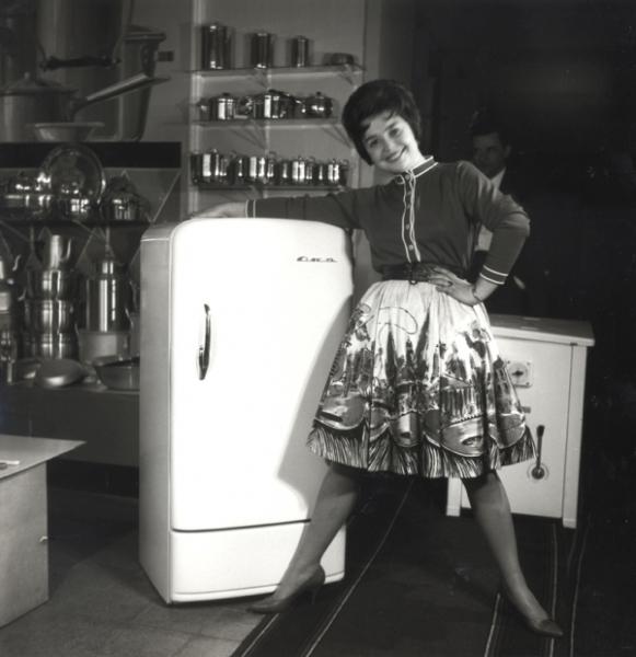 """Реклама холодильника """"Ока"""""""