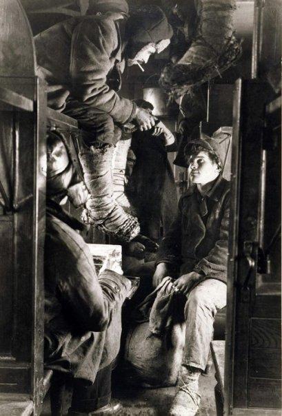 В поезде на Магнитогорск