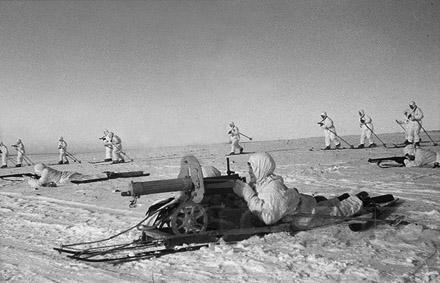 Пулеметчик из лыжного батальона