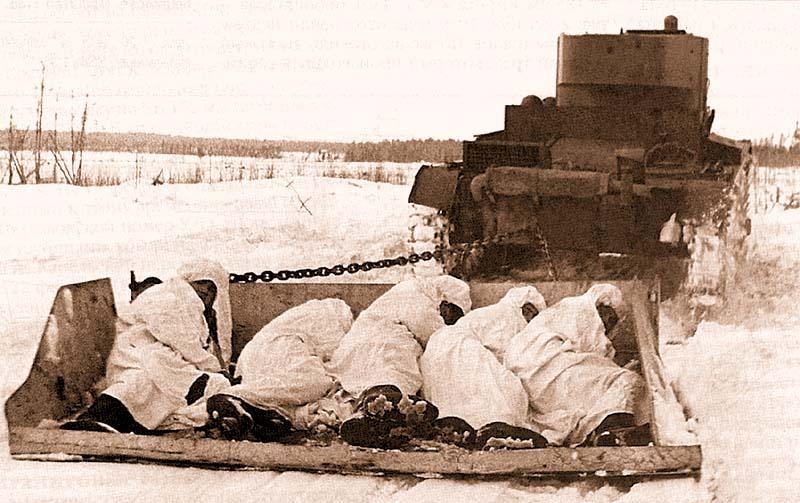Бронесани Соколова с пехотой