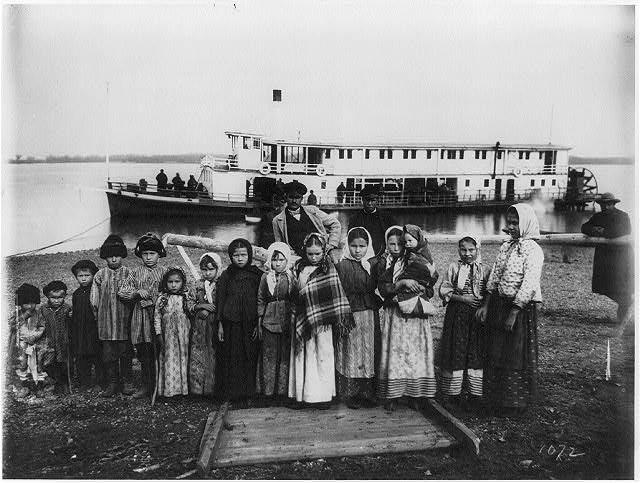 Крестьяне на реке Уссури