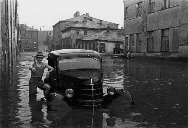 Наводнение после грозовых ливней