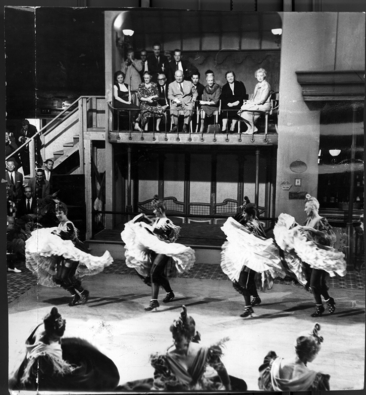 Никита Хрущев в студии Twentieth Century-Fox